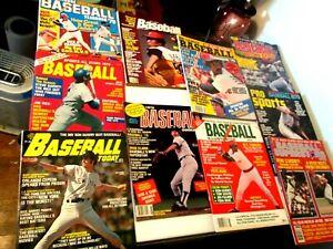 1979 Baseball Magazine Lot of 10 Pete Rose  Jim Rice Tom Seaver