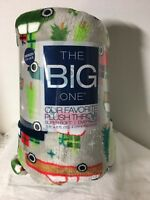 "The Big One Super Soft Plush Throw Christmas Oversized  60"" x 72"" Blanket NEW"