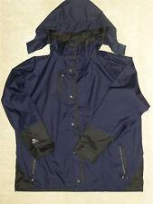 ELKA sporstswear IMPERMEABILE A VELA Cappotto Giacca Felpa con Cappuccio Abbigliamento impermeabile, taglia 2XL