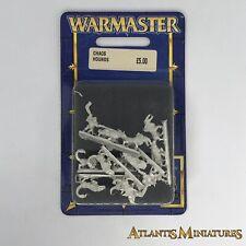 Caos Hounds Blister-Fuera de imprenta-Warmaster WARHAMMER CC377