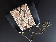 Real Snake Skin Clutch Handbag