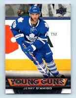 2013-14 Upper Deck Young Guns Jerry D'Amigo Rookie #497