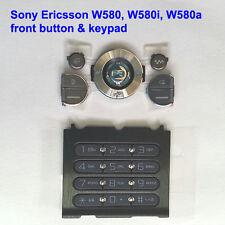 Genuine Sony Ericsson W580 W580i W580a Front Button+Keypad Fascia Housing D.grey