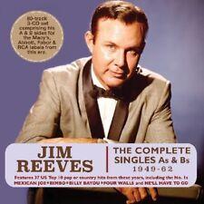 JIM REEVES - COMPLETE SINGLES AS & BS  3 CD NEUF