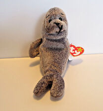 """TY Beanie Baby  """"Slippery"""" the Seal – Gasport  1998 & 1999 - Retired  – MINT:"""