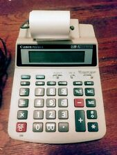 New ListingCanon P23-Dhii Ac & Battery Powered 2 Color 12 Digit Desk Printing Calculator