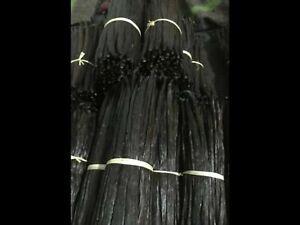 20 gousses de vanille Tahitienne d'Indonésie 11-13cm qualité supérieure