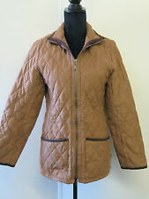 Barbour L763 Shaped Quilted Jacket - UK 10 Euro 38 in  Brown