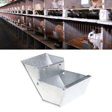 Rabbit Hutch Trough Feeder Drinker Bowl For Rabbit Animal Farming Equipment Tool