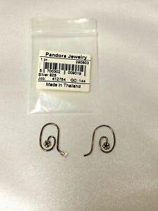 Pandora Compose Dangle Earrings Flower retired, 290603, .925