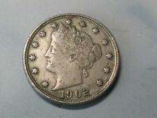 USA 5 cents 1902 Liberty Nickel