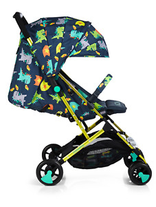 Cosatto Stroller Woosh 2 Dragon Kingdom Lightweight Compact Foldable Pushchair