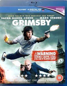 GRIMSBY - Blu-ray + DigitalHD Ultraviolet Code - Mark Strong - english/ Englisch