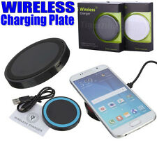 Qi Wireless Charger Charging Pad Retail Pack Black for Nexus 4 5 6 7 Samsung S6