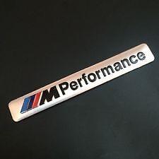 Oz Stock - SILVER BMW MOTORSPORT M Performance Emblem Badge Logo E90 M3 E60 F30