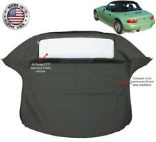 BMW Z3 1996-2002 Convertible Soft Top Replacement Black Twillweave