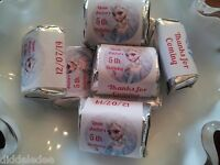 Disney Frozen Elsa Hershey Nugget Labels Stickers Favors 30 Personalize ChangeOK
