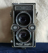 ROLLEI MAGIC Modèle 1 (K9) Franke & Heidecke vintage années 1960 TLR camera