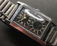 1930s AERO SECTOR dial doctors, prince style chromium case.