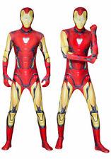 Iron Man Cosplay Costumes Superhero Avengers Adults Boys Bodysuit Kids Jumpsuits
