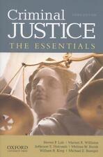 Criminal Justice : The Essentials by Melissa W. Burek, Steven P. Lab, Jefferson