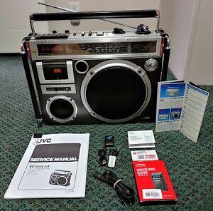 JVC RC-550S Vintage Boombox Ghetto Blaster ( Bundle-Deal ) RARE & CLEAN