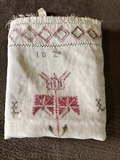 Early Antique 1820 Kitchen Show Towel Dated