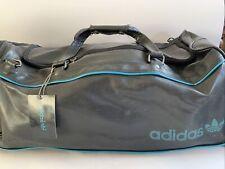 Adidas Holdall Gym Bolsa Vintage Negro Turquesa 1980s