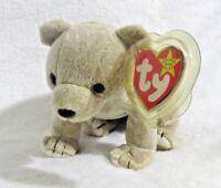 TY Beanie Baby - 1999 Almond The Bear 7in - NEW WITH TAGS>FREE SHIPPING