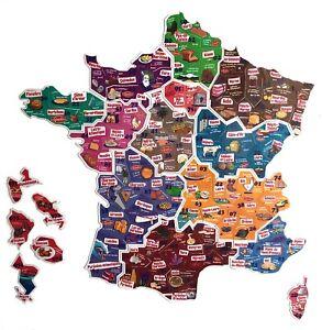Magnet le Gaulois carte de France 2018 - vente à l'unité