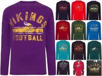 NFL NHL Long Sleeve TShirt Team American Football Hockey Original Apparel