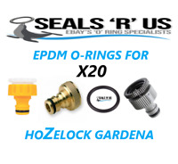 20 X Hose pipe connector seals O rings (EPDM) pack of Hozelock Gardena 1st Class