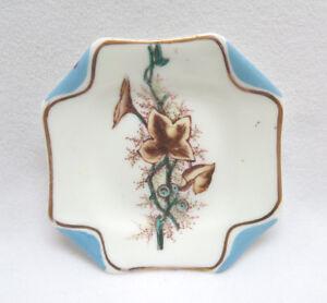 Antique S. B. & Son England Aesthetic Porcelain Butter Pat  #4
