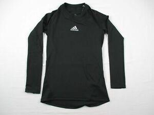 adidas Long Sleeve Shirt Men's Black Poly NEW Multiple Sizes