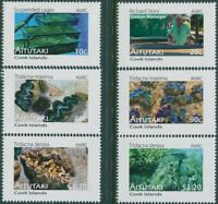 Aitutaki 2011 SG764-769 Clams set MNH