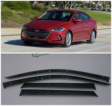 For Hyundai Elantra 2016-2018 Window Visors Side Sun Rain Guard Vent Deflectors