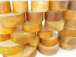 English Cedar of Lebanon woodturning or wood carving bowl blanks 50 & 70mm thick
