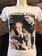 Halloween t-shirt - Mens & Women's sizes S-XXL Michael Myers Laurie Strode retro
