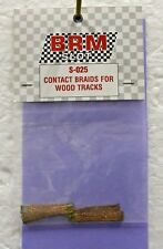 BRM S-025 CONTACT BRAIDS FOR WOOD TRACKS NEW 1/24 SLOT CAR PART