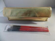 Smashbox Travel Set BRUSH Case Kit Precision Liner Definer Tapered Shadow New