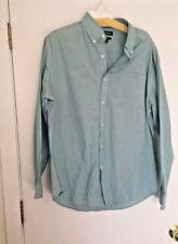 CROFT & BARROW Mens Shirt Long Sleeves Easy Care Blue Size  16.5 34/35