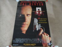 VINTAGE 90s The Hunted Video Promo Movie Poster Christopher Lambert Joan Chen