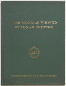 The moon as viewed by lunar orbiter, 1970 NASA book