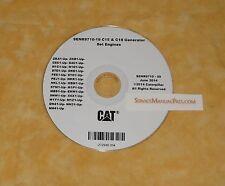 SENR9710 Caterpillar C15 & C18 Generator Set Factory Service Repair Shop Manual