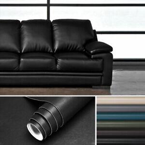 PVC Lederfolie selbstklebende Folie Leder Dekor Möbelfolie Klebefolie Für Sofa