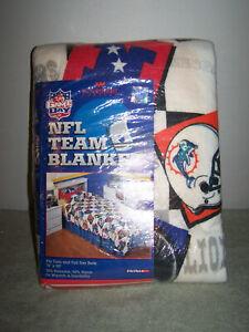 "Vintage Northwest Game Day NFL Football Team Blanket Twin/Full 72"" x 90"""