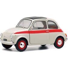 SOLIDO 1:18 AUTO DIE CAST FIAT NUOVA 500 L SPORT 1960 BEIGE ART S1801401