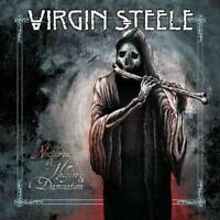 VIRGIN STEELE – NOCTURNES OF HELLFIRE & DAMNATION 2X VINYL LP (NEW/SEALED)