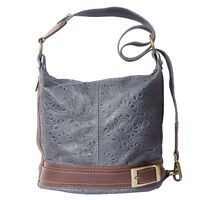 Borsa a Spalla Cuoio Pelle Leather Shoulder Bag Italian Made In Italy 300S dg