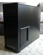 RARE! SilverStone TJ09 Aluminum ATX Full Tower Computer Case (Black) TJ09 DVD-RW